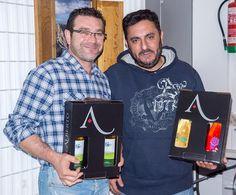 Cata de vino bodegas Alberto durante la exposición
