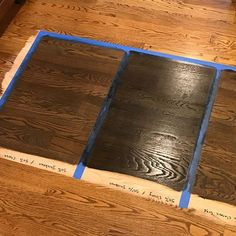 Working with red oak floors can be tricky. The key is to add a healthy dose of gray to your mix to cancel out the red undertones. I think… Red Oak Stain, Red Oak Floors, Hardwood Floor Colors, Hardwood Floors, Flooring, Painted Wood Floors, Floor Stain, Wood Vinyl, Grey Wood