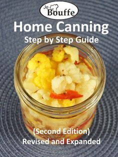 FREE: JeBouffe Home Canning Step by Step Guide (second edition) Revised and Expanded eBook: Edith Tremblay, Francois Lafleur: Kindle S. Canning Recipes, Wine Recipes, Easy Recipes, Healthy Recipes, Home Canning, Canning Supplies, Free Kindle Books, Free Ebooks, House