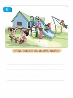 Creative Writing For Kids, Creative Writing Worksheets, English Creative Writing, English Writing Skills, Writing Activities, English Activities, Picture Story Writing, Picture Story For Kids, Writing Pictures