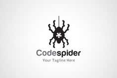44 best code logo design isnpiraiton images on pinterest code spider logo template by gunaonedesign on wajeb Gallery