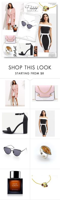 """Romwe 10"" by dedic-elvira ❤ liked on Polyvore featuring BoonTheShop and MAC Cosmetics"