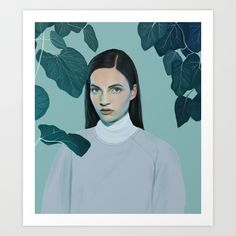 Overgrown Art Print by Kemi Mai - $18.00