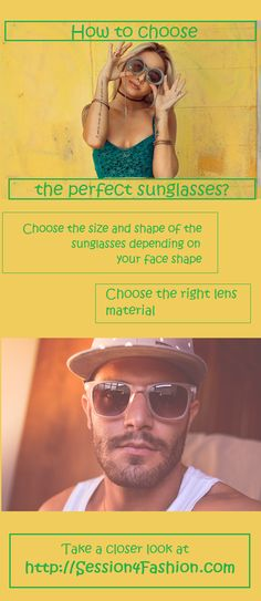 Unisex guide-choose the right sunglasses? Unisex Fashion, Womens Fashion, Style Fashion, Fashion Trends, Choose The Right, Face Shapes, Passion For Fashion, Cool Outfits, Mens Sunglasses