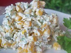 Salata de pui si porumb reteta Breakfast Recipes, Snack Recipes, Cooking Recipes, Snacks, Romanian Food, Balanced Meals, Pinterest Recipes, Carne, Potato Salad