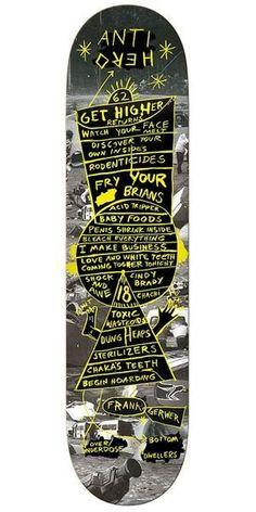 Anti-Hero Gewer Starchart Skateboard Deck - Black - x – SkateAmerica Skateboard Deck Art, Skateboard Parts, Skateboard Design, Skateboard Girl, Anti Hero Skateboards, Cool Skateboards, Burton Snowboards, X Games, Skate Decks