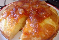 Fordított almás süti Brigitől
