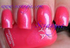 Zoya Bijou. Neon glass fleck jelly? Hell yeah!