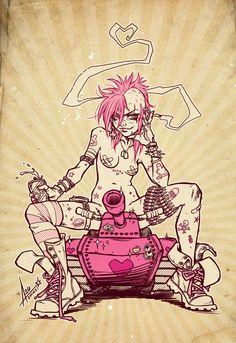 tank girl http://portfolio.asurocks.de/