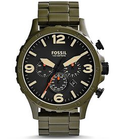 Olive! This might be necessary...Fossil Nate Watch