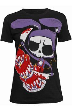 Akumu Ink Happy Unbirthday Women's T-Shirt, £19.99    http://www.attitudeclothing.co.uk/product_32342-61-2306_Akumu-Ink-Happy-Unbirthday-Women%27s-T-Shirt.htm