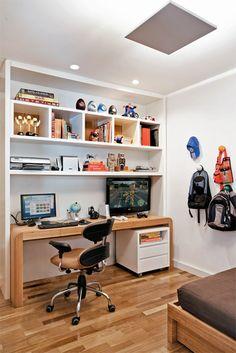 Os filhos têm voz ativa na decoração de seus quartos cada vez mais cedo. Palpitam em cores e objetos. Veja, em cinco projetos, o resultado dessas interferências.