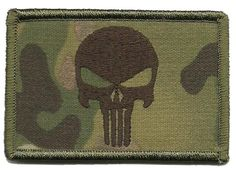 Patch - Punisher Tactical Patch  Everything Else - Multicam Hat Patches 5ba8d255f82