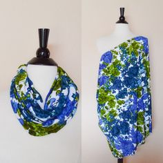 Nursing scarf floral nursing cover gift for her by KayBellaChic