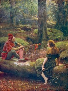 In the Forest of Arden by John Collier
