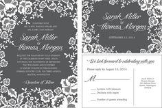 Wedding Invitations personalized wedding by Chalkboard Invitation, Wedding Themes, Personalized Wedding, Wedding Invitations, Wedding Inspiration, Colours, Wedding Reception Themes, Masquerade Wedding Invitations, Wedding Invitation Cards