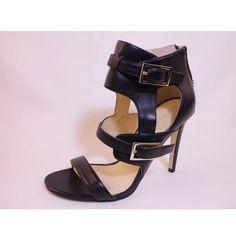 Ivanka trump black leather heels Pre owned in excellent condition! Ivanka Trump Shoes Heels