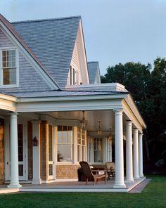 Waterfront shingle style home, MA. Studio 511, Clemson, SC.