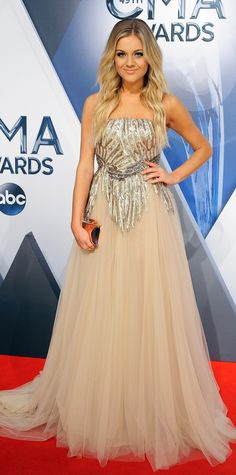 CMA Awards 2015: See All the Best Red Carpet Looks - Kelsea Ballerini  - from InStyle.com