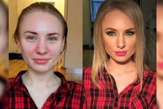 before and after makeup - Google Search