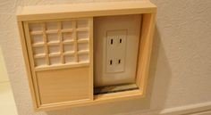 Sliding doors for your outlets!