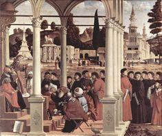 1514 Debate of St. Stephen - Vittore Carpaccio