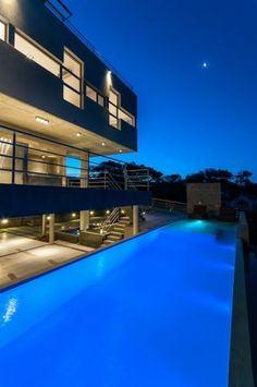 Collect this idea From afar, this modern residence developed by the ...