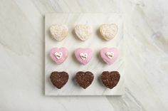 The Way to A Man's Heart #brownies #bhbc The Heart Of Man, Valentine Day Love, Brownies, Place Cards, Place Card Holders, Stud Earrings, Earrings, Stud Earring