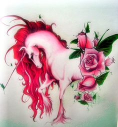 Einhorn: Rosebud by sheepy-sheep on deviantART