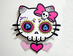 Hey, I found this really awesome Etsy listing at https://www.etsy.com/listing/196982161/big-sugar-skull-dead-kitty-day-of-the