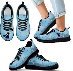 Get a Step Ahead with these Practically Perfect Mary Poppins Sneakers
