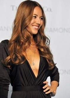 Jessica Michibata hair color
