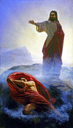 Carl Heinrich Bloch - Jesus Tempted - Gesù Tentato