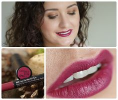Catrice Ultimate Stay Lipstick, Plum & Base + Lip Liner, Love The Way You Plum