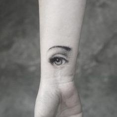 Eye tattoo by Sanghyuk Ko