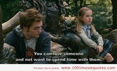Remember Me (2010) - movie quote. You can love someone and not want to be with them.