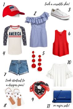Fourth of July Outfits | The Creative Brief