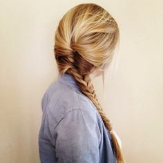 Private School Prepster: Easy Hair Styles