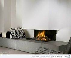 Contemporary Fireplace Designs Feel The Warmth Of Style From Modern Fireplace Designs Home Design Lover Contemporary Fireplace Designs Australia Inset Fireplace, Fireplace Update, Old Fireplace, Modern Fireplaces, Contemporary Fireplace Designs, Romantic Room, Scandinavian Home, Modern Interior Design, Home And Living
