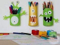 Aprenda a transformar embalagens de xampu em porta-lápis divertido