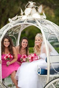 Carriage #wedding transport ... Wedding ideas for brides, grooms, parents & planners ... https://itunes.apple.com/us/app/the-gold-wedding-planner/id498112599?ls=1=8 … plus how to organise an entire wedding, without overspending ♥ The Gold Wedding Planner iPhone App ♥