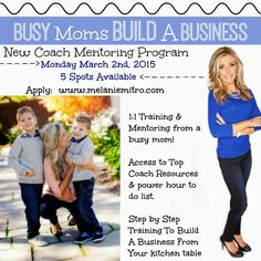 Busy Moms Build A Business, Team Beachbody, Coaching, Top Coach, Elite Coach, Mentoring, Training Program, Coach Apprenticeship Program, Melanie Mitro, Dream Team