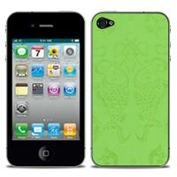 Beijing Imperial Silk Skin in Green  For iPhone 4/4s by iChic Gear