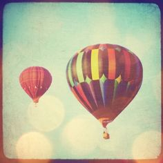 Hot Air Balloon photo - 8x8 hot air balloon photo. Buy one get one free sale.