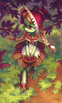 young Granny by Holivi.deviantart.com on @deviantART