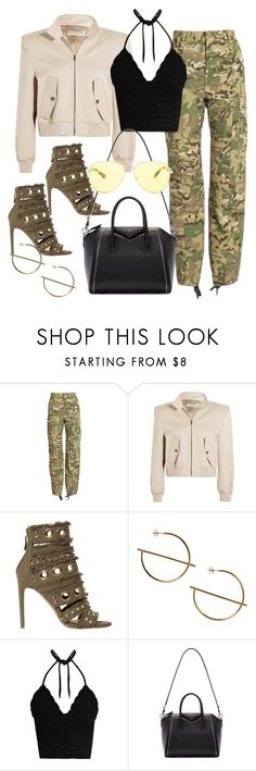 """Untitled #4176"" by dkfashion-658 on Polyvore featuring Vetements, Balenciaga, Alexandre Vauthier, Monki, RED Valentino, Givenchy and Michael Kors"