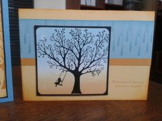 Brayered Skylines http://stampingwithbelinda.blogspot.com.au/2011/09/brayed-sky-lines.html Forever Young. Stampin' Up!