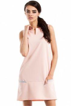 Sukienka Model MOE232 Powder Pink