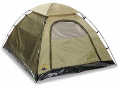 Stansport Olive-green Buddy Hunter Two-pole Quick-clip Nylon Dome Tent #Stansport