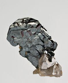 Hematite with Quartz Cavradi Switzerland miniature